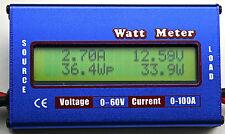 Volt Watt Current Meter 12V Battery Solar Caravan 4x4 Camping 4WD Boat Jayco led