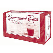 """Communion Cups - Disposable - 1 3/8"""" inches - Package of 500 - Broadman - NEW!"""