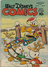WALT Disney 's Comics & Stories #76 (Carl Barks) Walt Kelly (Paul Murry) $525,-