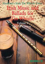 Soodlum's Irish Tin Whistle Tutor celtique ballades jouer de la musique Pennywhistle Livre 2
