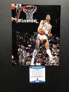 Larry Nance Sr. autographed signed 8x10 photo Beckett BAS COA Cleveland Cavs NBA