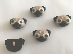 DRESS IT UP PUGS DOGS CHILDRENS PARTY CAKE DECORATIONS CRAFTS MOBILE PHONE  ART