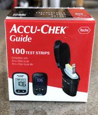 Accu-chek Guide Diabetic 100 Test Strips exp 4/2022 Ships Free