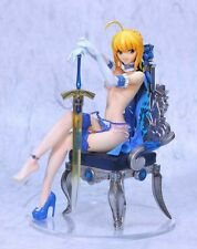 FATE/STAY NIGHT Saber BIKINI+ROYAL CHAIR SUPER SEXY RESIN FIGURE SET RARE LQQK