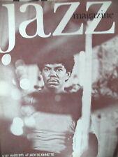 JAZZ MAGAZINE 187 JACK DELOHNETT COHELMEC MILES DAVIS  1971