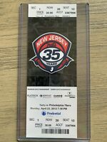New Jersey Nets vs 76ers 4/23/2012 Ticket Stub - Final Nets game in New Jersey!