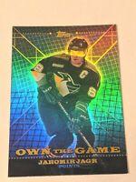 2000-01 Topps Own the Game #OTG1 Jaromir Jagr Pittsburgh Penguins Hockey Card