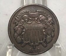 1868 2 Cent Coin-Way Classy!!