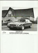 "JAGUAR XJR SUPERCHARGED XJR6 ENGINE ORIGINAL PRESS PHOTO ""BROCHURE RELATED"" 1994"