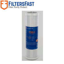 "Filters Fast FF10CB-.5 10"" .5 Micron Carbon Water Filter For Pentek CBR2-10"