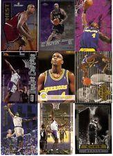 CHRIS WEBBER ROOKIE INSERT LOT 90 CARDS 1993-94 SACRAMENTO KINGS WIZARDS $100 bv