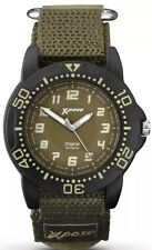 Sekonda Gents Xpose Watch 1040 with Green Hook & Loop Strap NEW