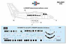 Revaro Decal L-410 UVP stencils & windows for AZmodel / GAVIA kit 1/72