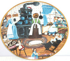 Home Made Sweets Kids Old Stove Collector Plate Franklin Mint Coa Karyn Bell