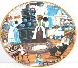 Heim Hergestellt Bonbons Kinder Alt Ofen Sammler-Teller Franklin Ungebraucht COA