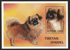 Tibetan Spaniel * Int'l Dog Postage Stamp Art * Great Gift Idea *