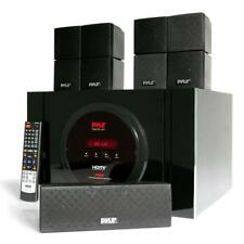 Pyle Bluetooth 5.1 Ch. Home Theater System Surround Speakers & A/V Amplifier