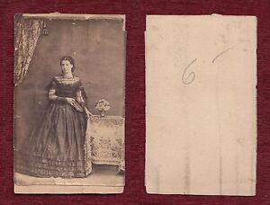 Late 19th century Original Vintage Paper Photo Antique Portrait Cabinet Posing