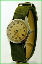 Vintage Omega 2543-1 Military WWII Pulsometer 31mm Cal. 231 Steel ORIGINAL Watch