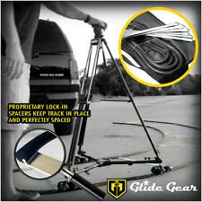 Glide Gear 36ft Round Curve Rubber Camera Video Tripod Dolly Tracks W/ Spacers