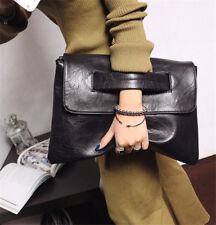 New Women Messenger Bag Envelope Clutche Crossbody Large Splice Handbag  Hot