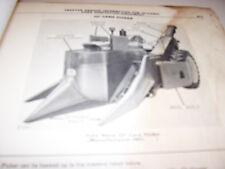 Vintage John Deere Parts Manual - Tractor Mounted Corn Pickers- 1965