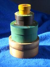 Four Piece Set Bühler Swiss Hand Made Round Boxes Primitive Nesting Since 1918