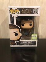 Game Of Thrones Arya Stark 2019 ECCC exclusive Funko Pop Vinyl  Figure