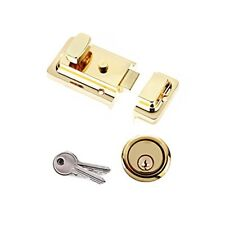 Yale Essentials High Quality Traditional 60mm Night Latch Front Door Lock for Se
