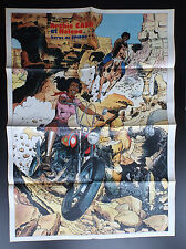 Poster Supplement Archie Cash Du Journal Spirou N° 1990 de 1976