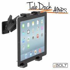 """Ibolt Tabdock Amps - Heavy Duty Drill Base Mount For All 7"""" - 10"""" Tablets (Ipad,"""