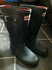childrens size 1 Hunter wellies