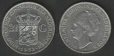 1932 Olanda Wilhelmina 2,5 G d'argento SPL