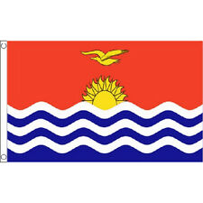 Kiribati Flag 5Ft X 3Ft Republic National Country Banner With 2 Eyelets New