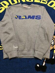 Mitchell & Ness Sweatshirt LA Rams Gray Pullover Size M