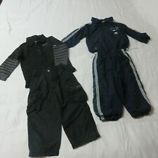 New listing Boys 4 Pce Clothing Lot - Golf Pro Tracksuit Navy & Quiksilver Pant/Top Black 2T