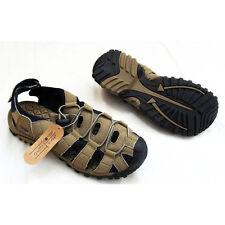 MX2 Childrens Performance Sport Walking Sandals Shoes (Beige) - UK 2 (EU 35)