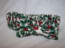 "Longaberger Garter 12"" diameter small Holly Berry used"