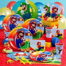 Super Mario Birthday Party Supplies,Tableware & Decorations