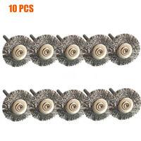 10x Polissage fil de cuivre Coupe Brosses roue pour Dremel Outil rotatif