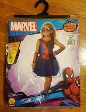 New Spider girl size small 4-6 Halloween Costume