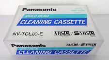 panasonic nv-tcl 20-e new factory saled, cleaning cassette
