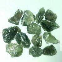 Rare specimen ! 20 ct 13 pcs Natural Czech Meteorite Synergy 12 Stone Sec 0 ship