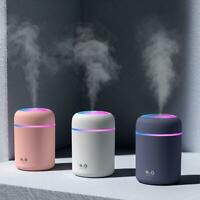 Durable Electric Air Diffuser Aroma Oil Humidifier Night Light Up Difuser Office