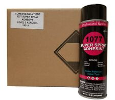 V&S 1077 Super Spray Adhesive Fine Mist Spray Pattern Case with 12 cans