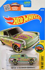 Hot Wheels 2016 Hw Art Cars Custom '69 Volkswagen Squareback