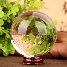 Clear Magic Asian Rare Natural Quartz Crystal Healing Ball Sphere 40mm + Stand