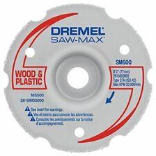 Dremel Sm600 Saw Max Flush Cut Wheel Gray Pack Of 1