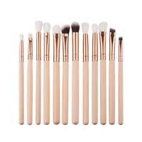 12Pro Makeup Brushes Set Foundation Powder Eyeshadow Eyeliner Lip Brush T Nice