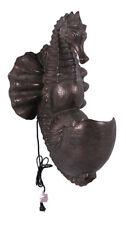 "30"" Seahorse Wall Mount Fountain Verde Bronze Finish Indoor or Outdoor Sea Horse"